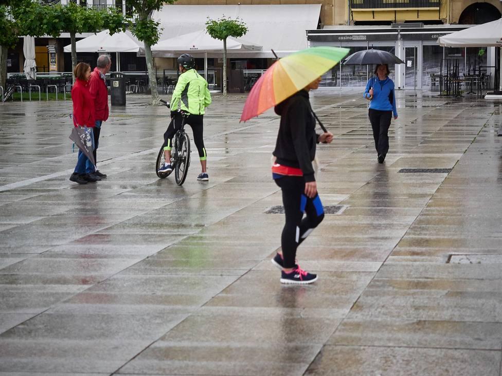 Lluvia Pamplona