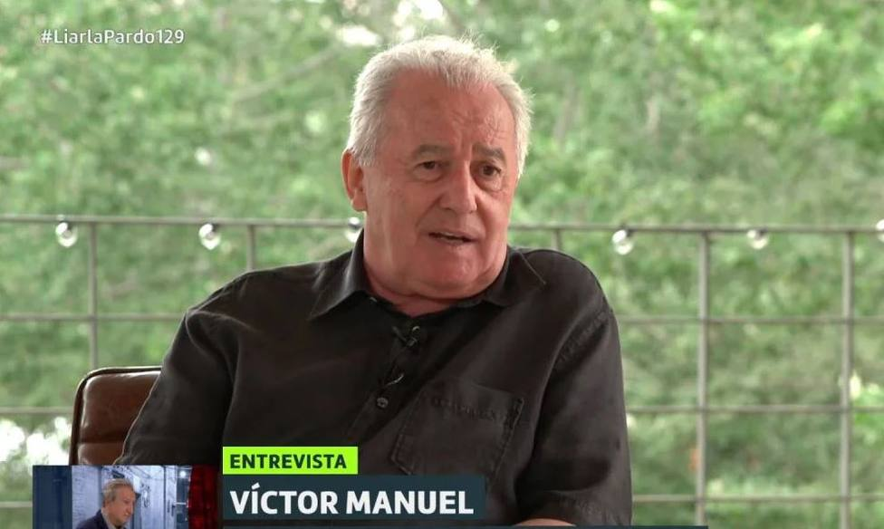 Víctor Manuel en Liarla Pardo