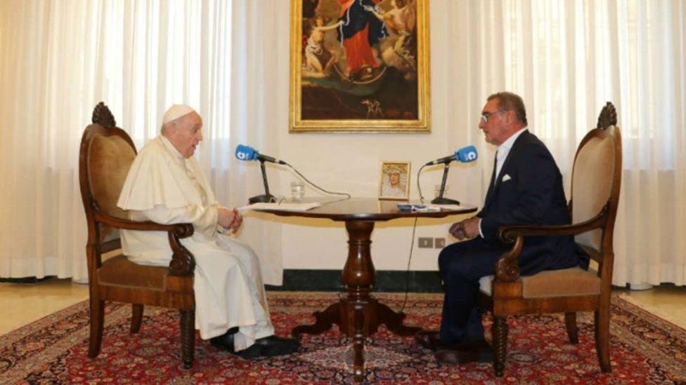 La entrevista de Herrera con el Papa Francisco, entre lo más visto de la semana
