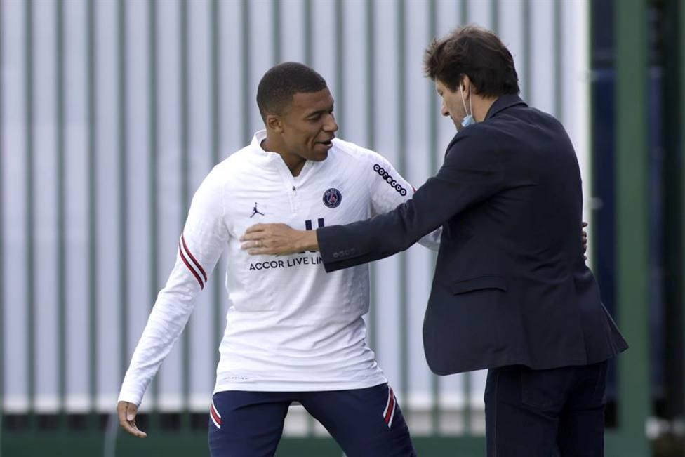 Leonardo: Creo que Mbappé va a seguir con nosotros una vez acabe esta temporada