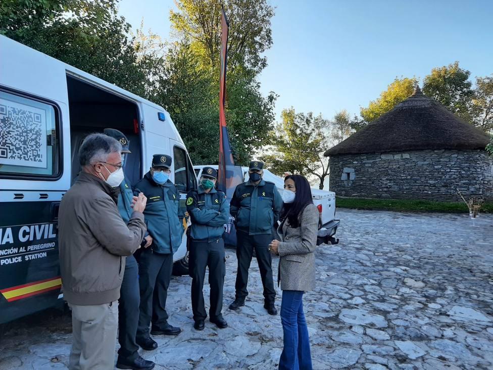 Isabel Rodríguez visita la OMAP en Pedrafita
