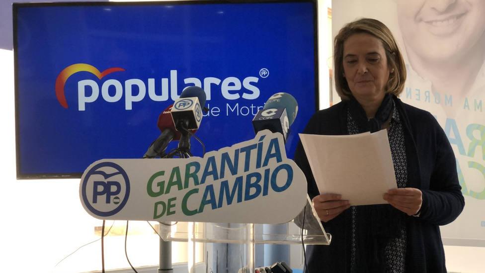 La alcaldesa de Motril devuelve al grupo municipal del PP los 4.000 Euros que utilizó para pagar una condena