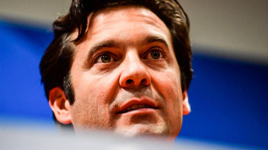 Santiago Solari, en rueda de prensa. EFE