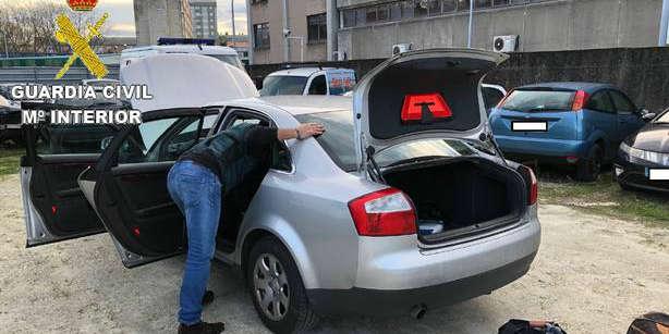 Cae la banda de ladrones que abandonaba los coches de alta gama que utilizaban para los asaltos