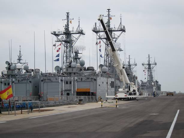 La Base de Rota se convierte en sede del grupo de trabajo de Operaciones Marítimas de la OTAN