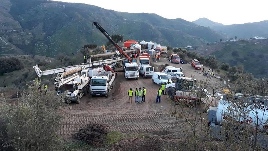 Los mineros asturianos están deseando entrar a rescatar a Julen