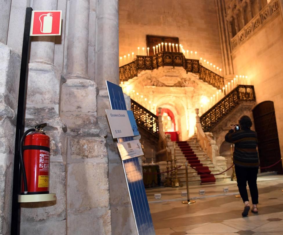 Sistemas de seguridad anti-incendios de la Catedral de Burgos