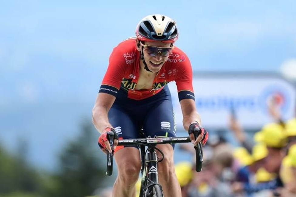 Ciclismo/Tour.- Los debutantes Teuns y Ciccone logran triunfo y liderato desde la escapada