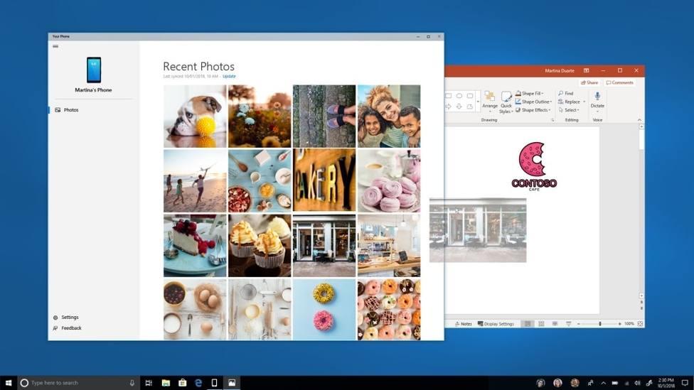 La app Your Phone de Microsoft permitirá hacer llamadas desde el escritorio del ordenador en Windows 10