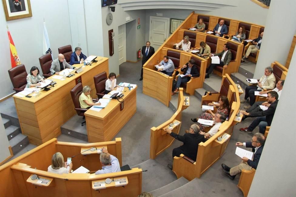 Pleno de la Diputación de A Coruña de este viernes - FOTO: Diputación de A Coruña