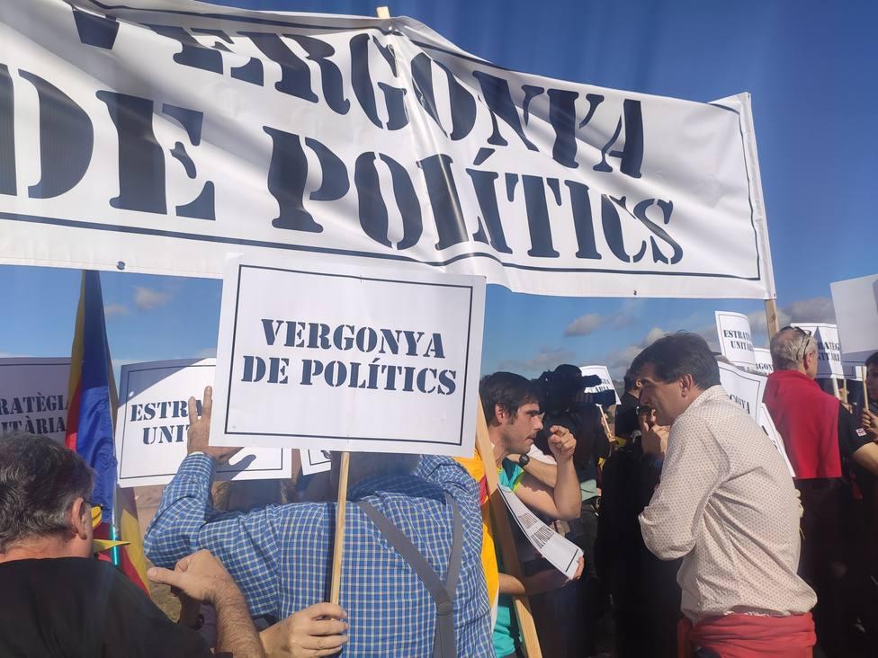 Los CDR convocan en Barcelona una protesta contra el acto de fin de campaña de Pedro Sánchez