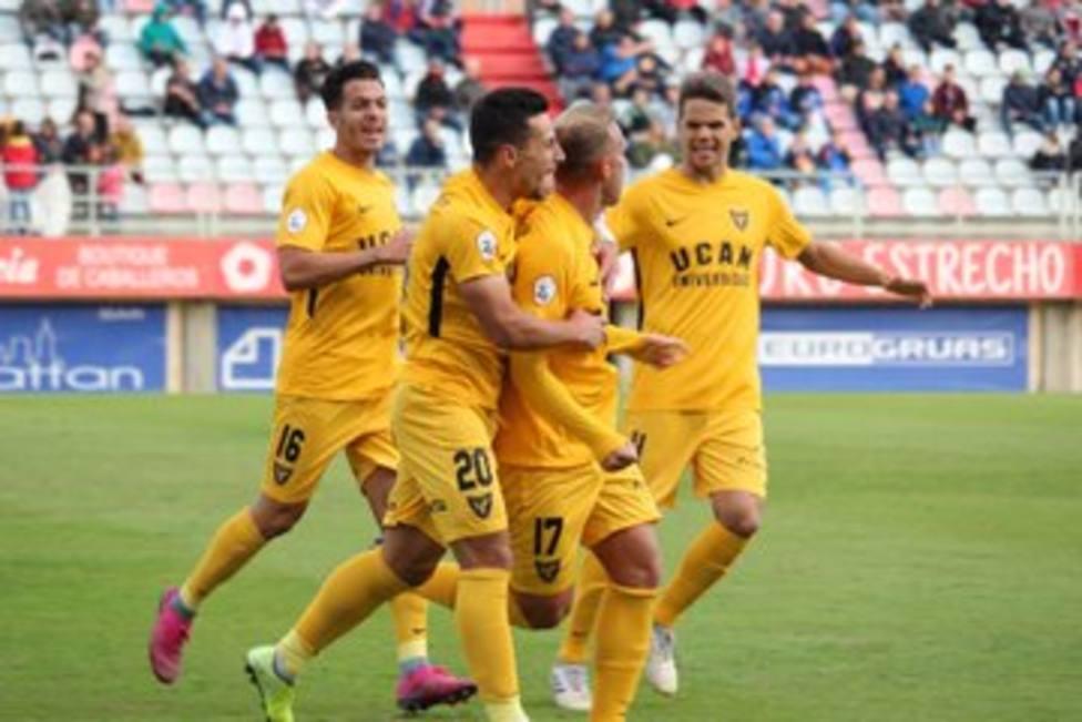 UCAM Murcia CF suma su primer triunfo lejos de La Condomina