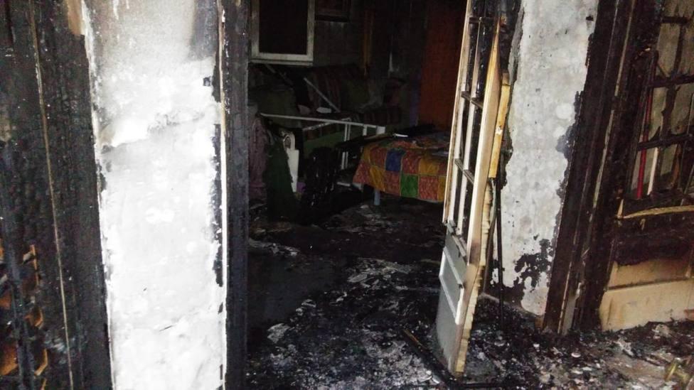 Una anciana resulta herida grave en Menorca tras incendiarse su casa por una manta eléctrica