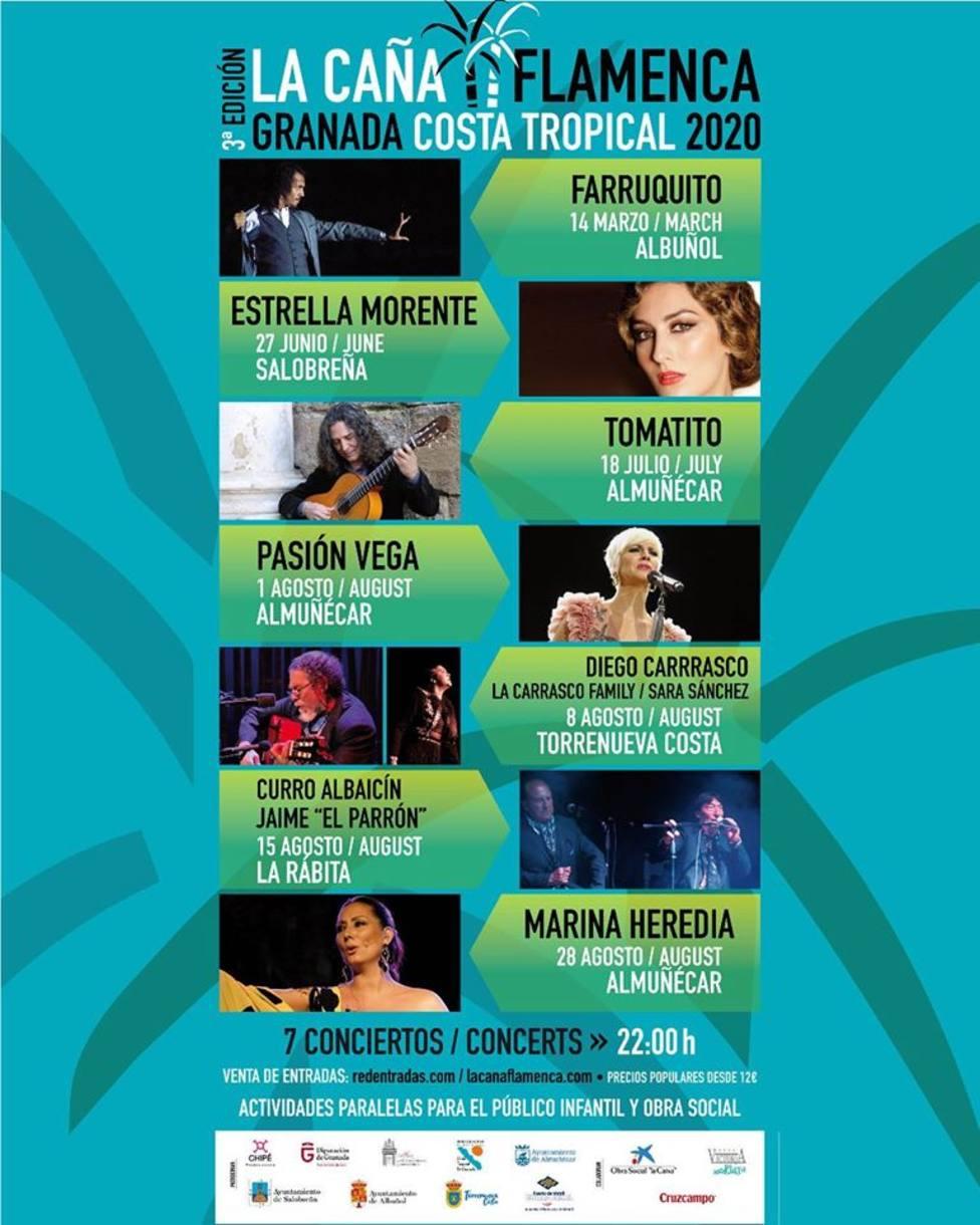 Cartel de La Caña Flamenca 2.020