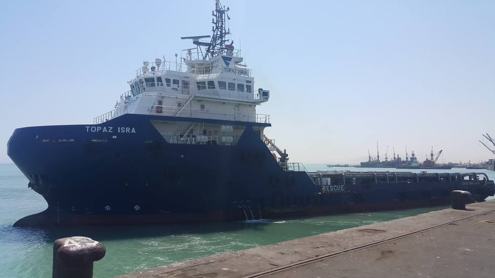 El Topaz Isra será uno de los buques que atracará este viernes en Ferrol - FOTO: Topaz Energy and Marine