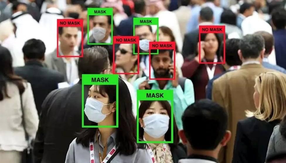 Uso de la tecnología LogMask para detectar el uso de mascarillas - UB