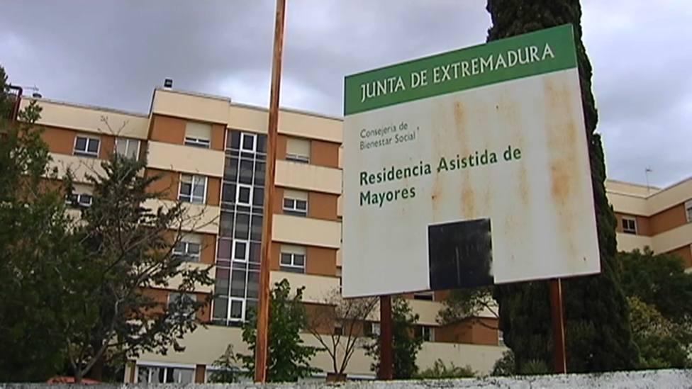 Residencia de mayores El Cuartillo de Cáceres, conocida como La Asistida. Foto: Archivo