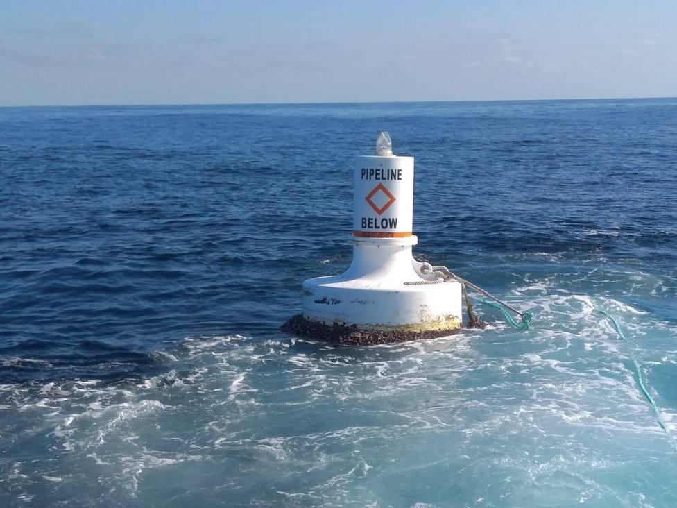 La boya fue localizada a unas 13 millas del Cabo Ortegal - FOTO: Salvamento Marítimo