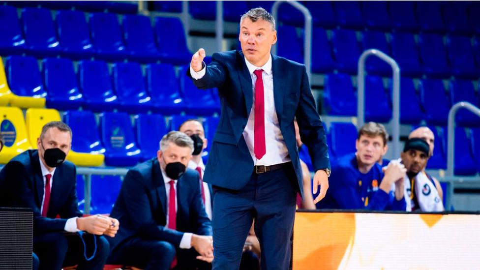 Sarunas Jasikevicius, entrenador del Barça Basket (FOTO: FC BARCELONA)