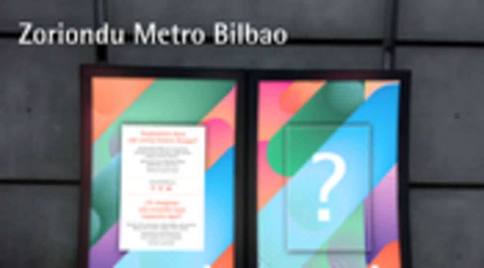 Zoriondu metro Bilbao