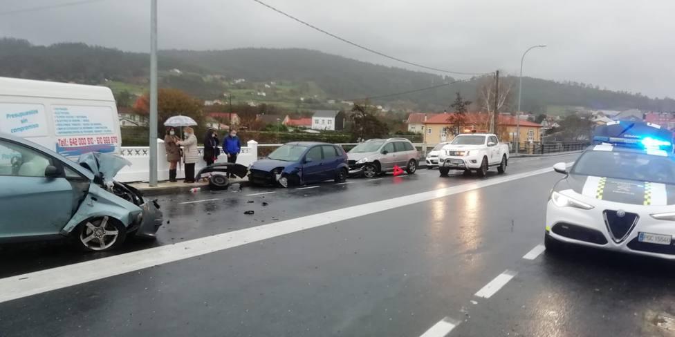 Todos los vehículos sufrieron daños importantes - FOTO: Cedida