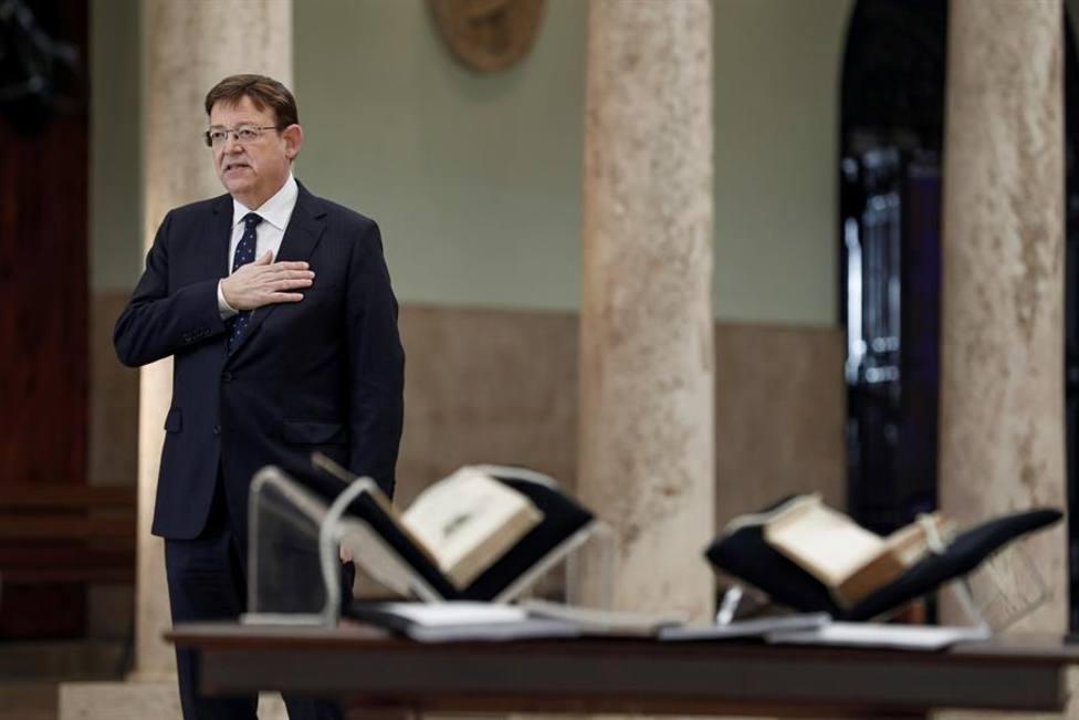El president de la Generalitat valenciana Ximo Puig
