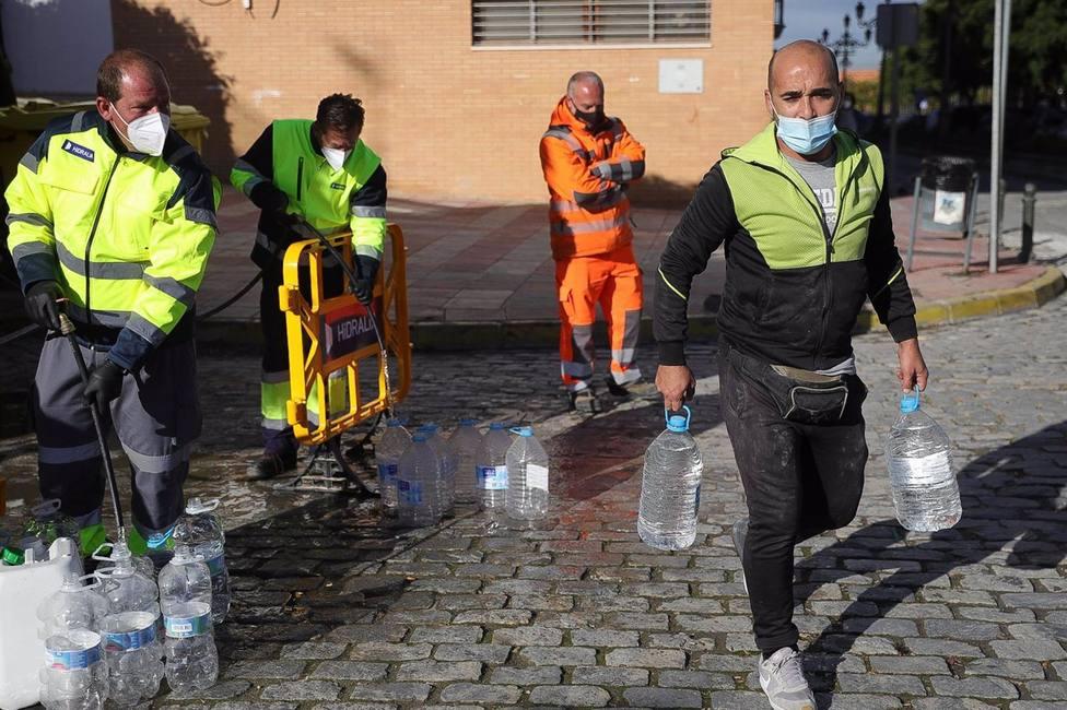 Sevilla.- Declarada otra vez no apta para el consumo humano el agua de Marchena pero ahora por un plaguicida