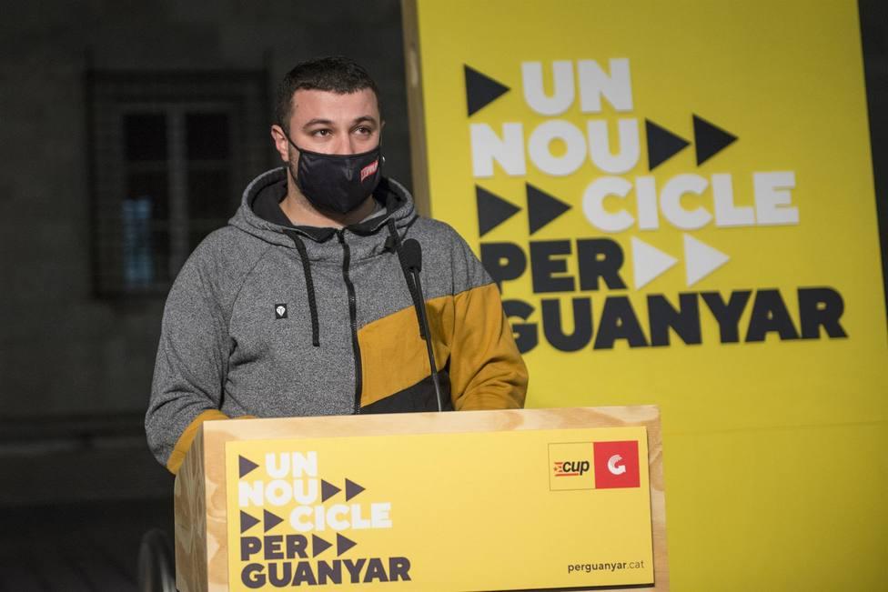 El número dos de la candidatura por Tarragona, Edgar Fernández - Glòria Sánchez - Europa Press