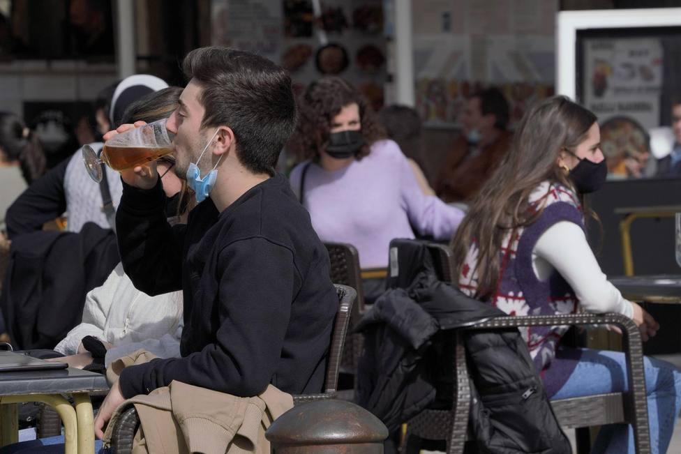 La Xunta de Galicia ha reabierto parcialmente la hostelería. FOTO: Álvaro Ballesteros - Europa Press