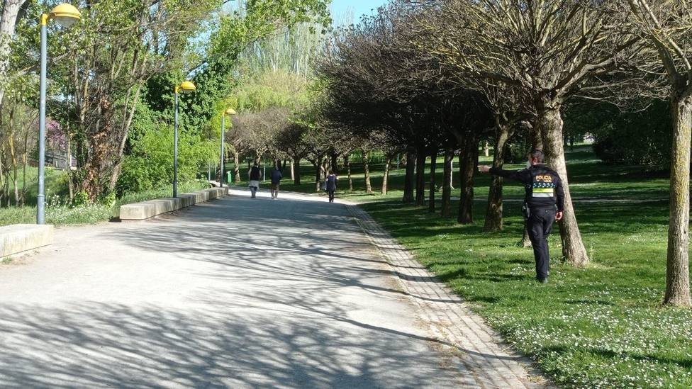 La Policía Local de Logroño investiga a cuatro jóvenes por intentar provocar accidentes de ciclistas