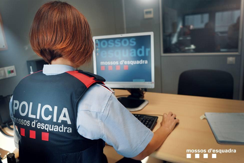 Foto de recurso de los Mossos dEsquadra. Foto Twitter Mossos