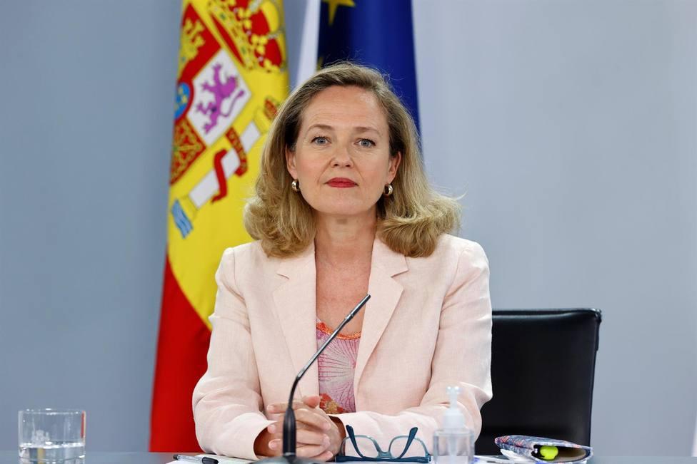 La vicepresidenta segunda del Gobierno y ministra de Asuntos Económicos y Transformación Digital, Nadia Calviñ
