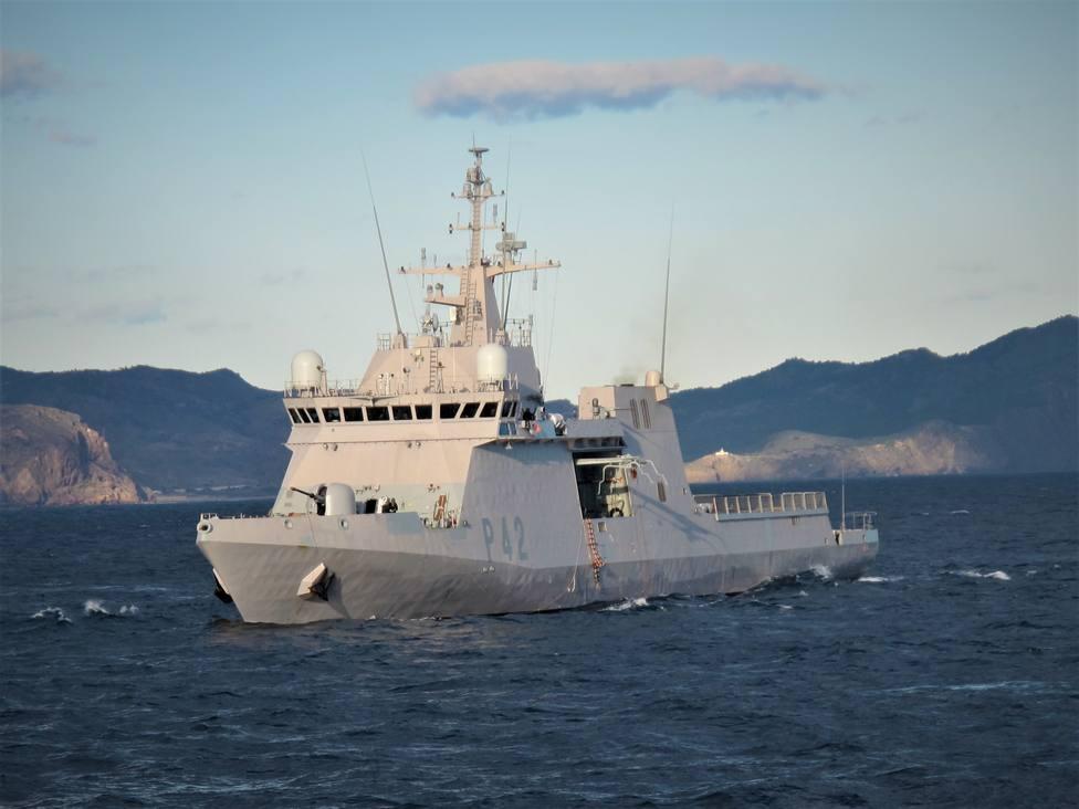 Rusia vigila al buque español Rayo, en el mar Negro para un ejercicio de la OTAN