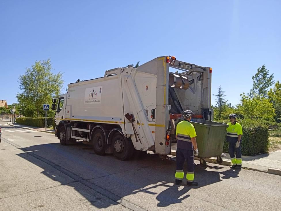 San Lorenzo modifica el contrato de limpieza viaria y recogida de residuos para introducir mejoras