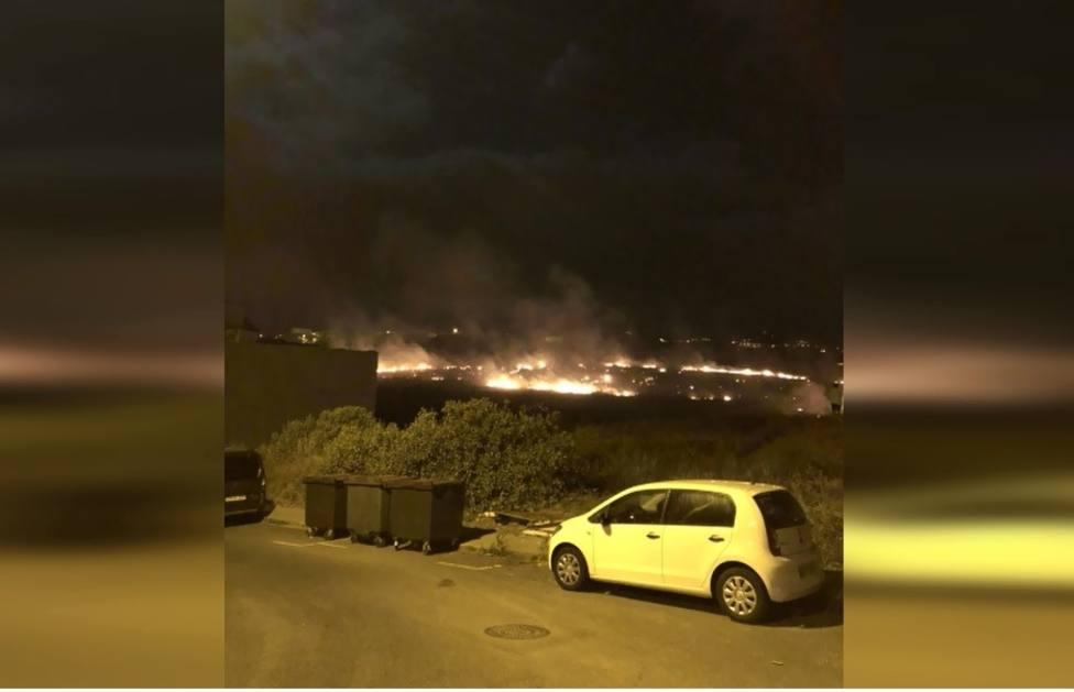 Estabilizado el incendio en Almatriche Alto