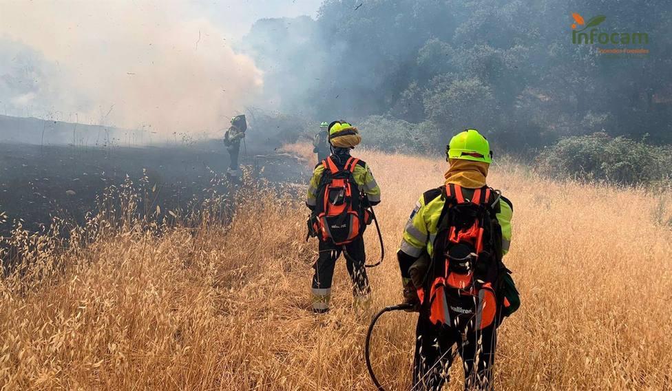 El fuego ha quemado un total 35.311 hectáreas anuales