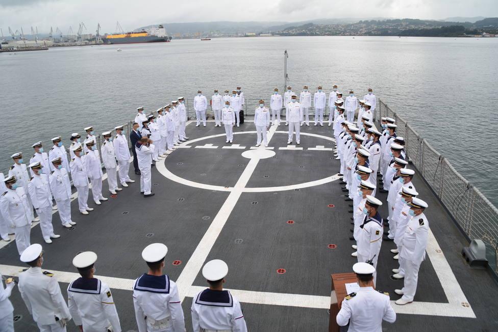 """La ceremonia tuvo lugar a bordo del patrullero """"Centinela"""". FOTO: Armada"""