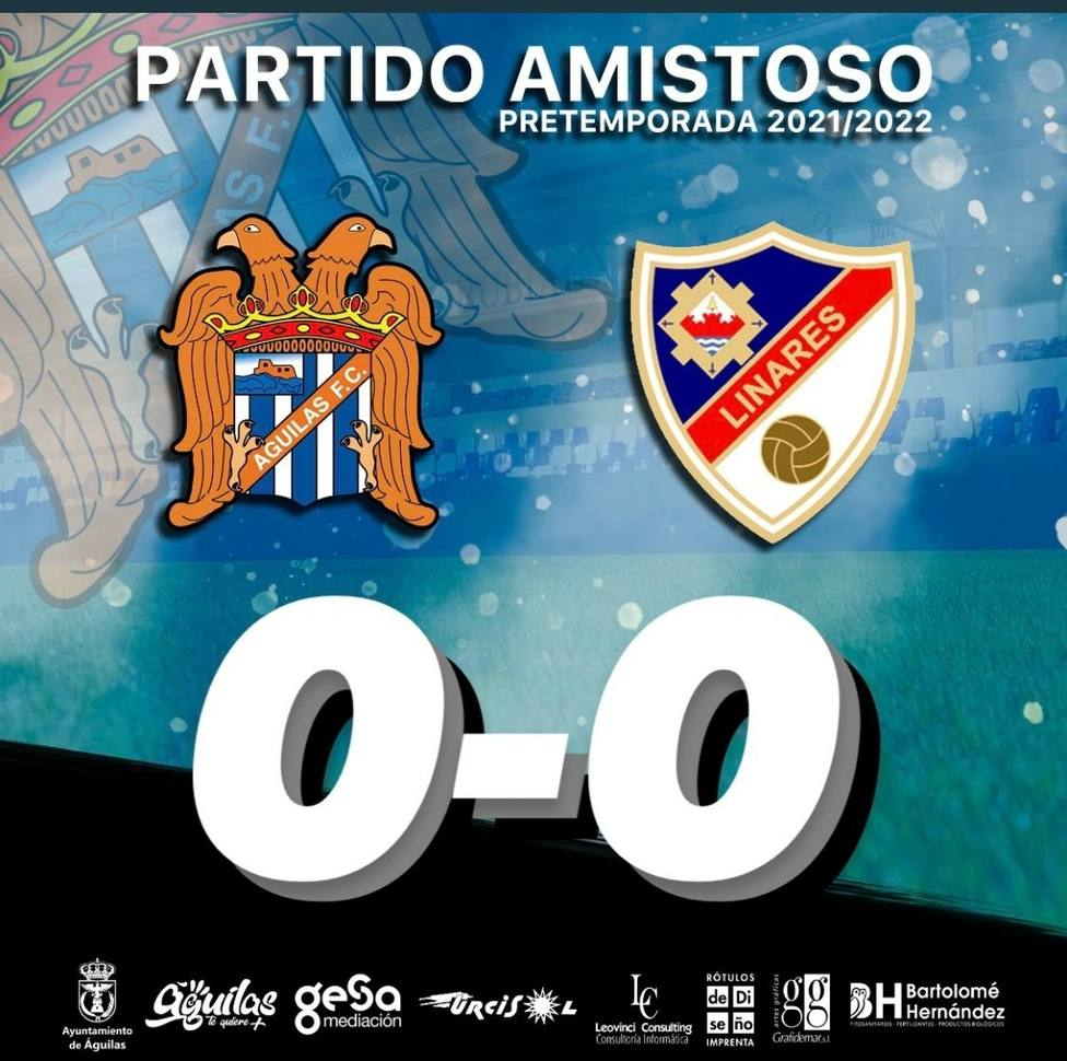 El Águilas FC y el Linares Deportivo empatan a cero en un partido sin ocasiones