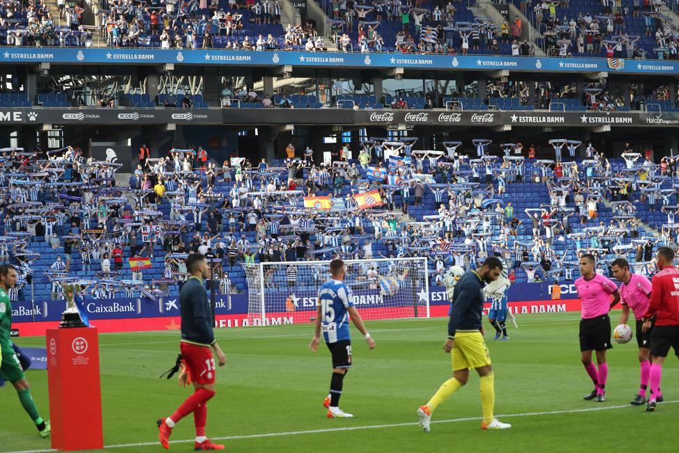 Spanish La Liga soccer match Espanyol vs Villarreal