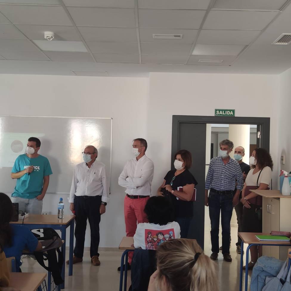 El nuevo IES Puebla de Vícar será un referente de la Formación Profesional del Poniente almeriense