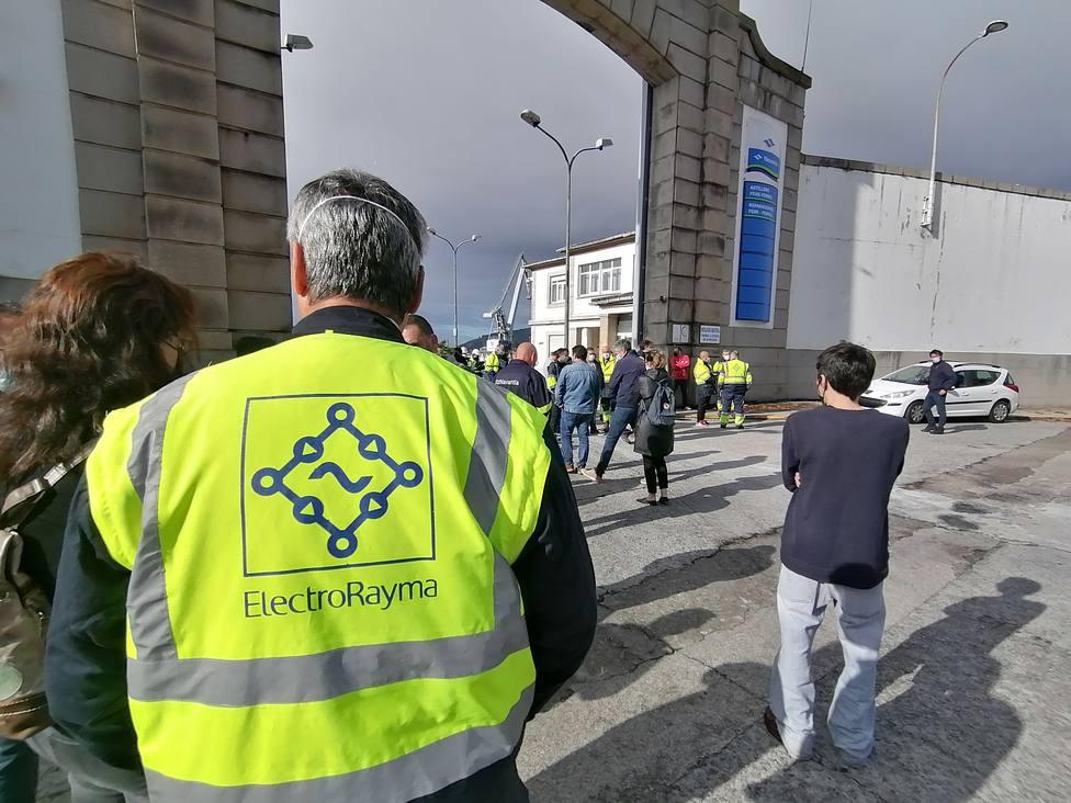 Foto archivo. Movilización trabajadores ElectroRayma. FOTO: Europa Press