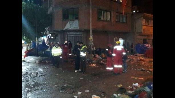Al menos seis muertos y 28 heridos en una explosión en Bolivia