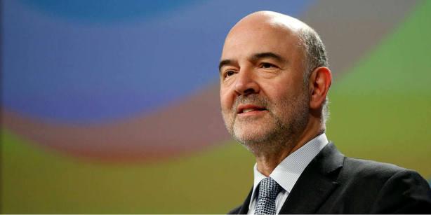 El comisario europeo de Economía,Pierre Moscovici. REUTERS