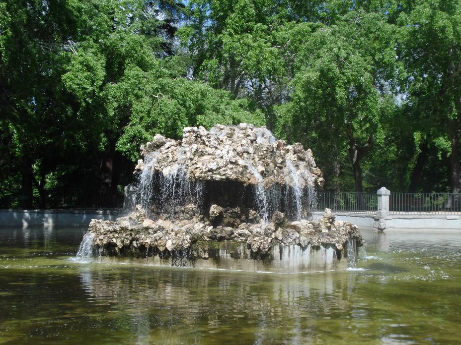 La Fuente del Estanque Ochavado, en El Retiro