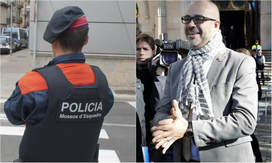 La contundente carta de un mosso al consejero catalán Miquel Buch