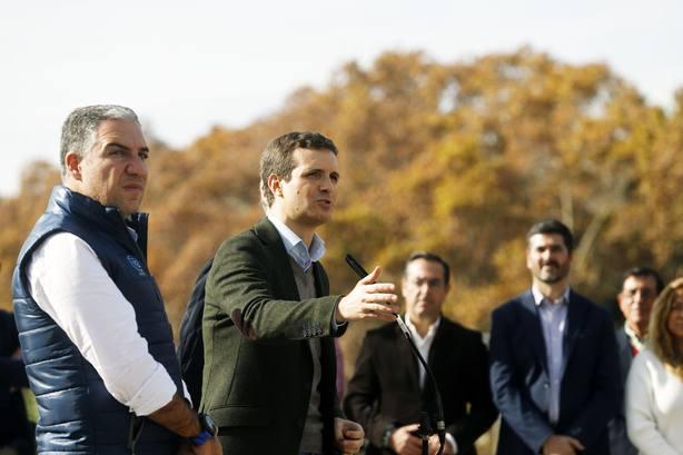 Casado pide explicaciones al Gobierno por paralizar el trasvase Tajo-Segura