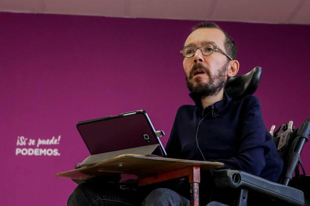 Echenique insta a los independentistas a apoyar los PGE pensando en el bien de los catalanes frente a otras cuestiones
