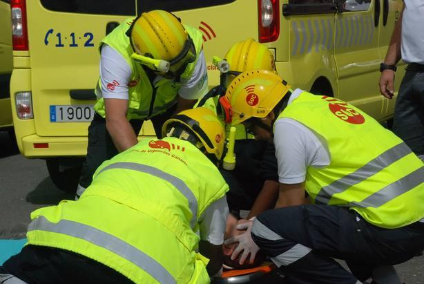 Un fallecido y una herida grave en un accidente de tráfico en La Palma