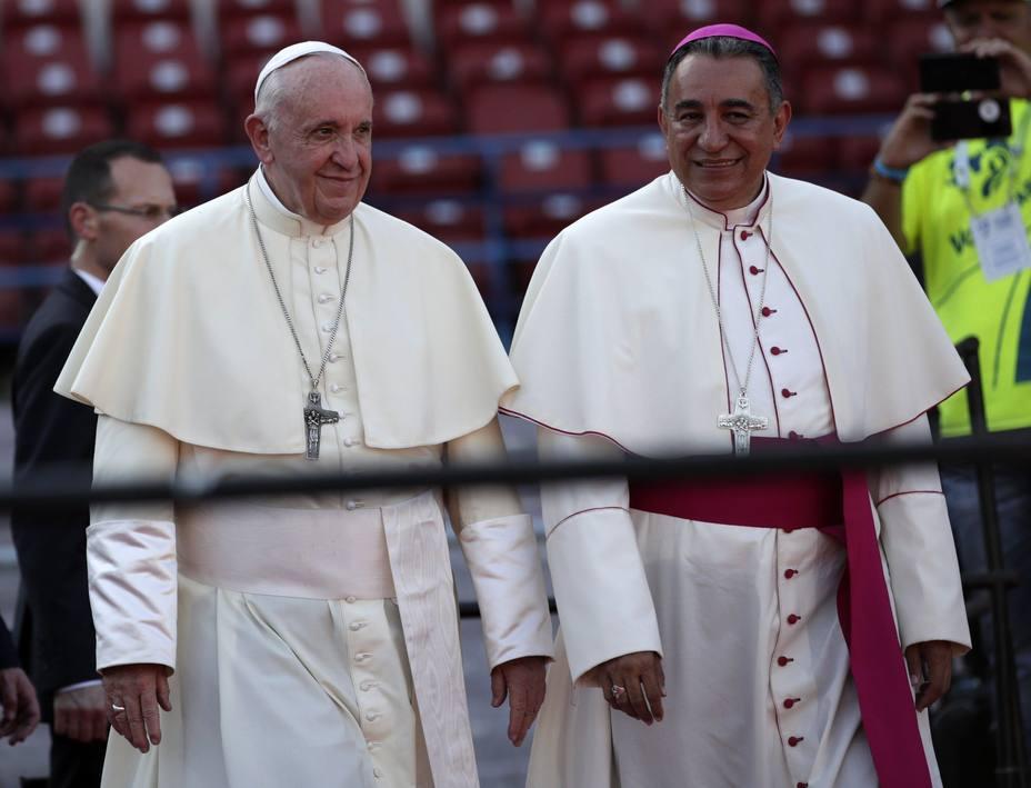 El papa Francisco lidera encuentro con voluntarios de la JMJ