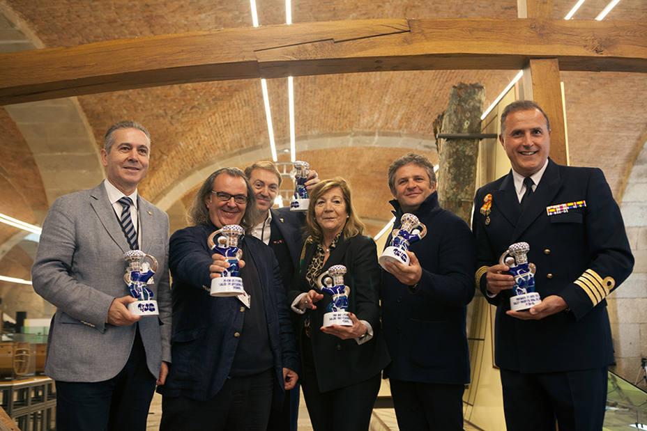 Premiados en la edicción de 2017 en la sede de Exponav